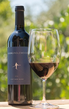 'Bottle of Young Inglewood 2014 Right Bank Blend'